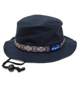 Kavu Kavu Strap Bucket Hat: Black- S