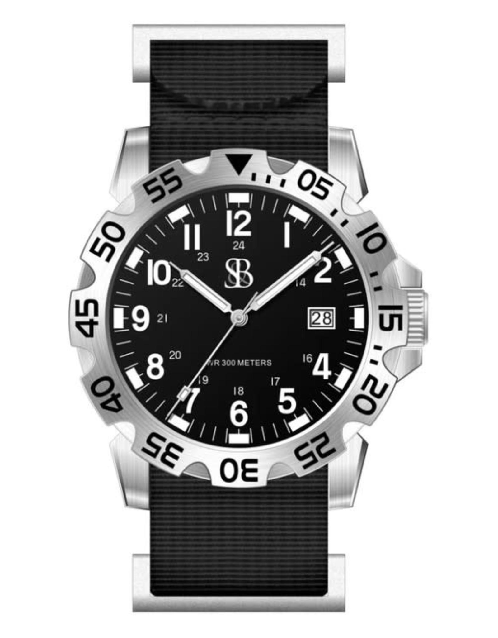 Smith & Bradley SANS-13 - Black/Silver