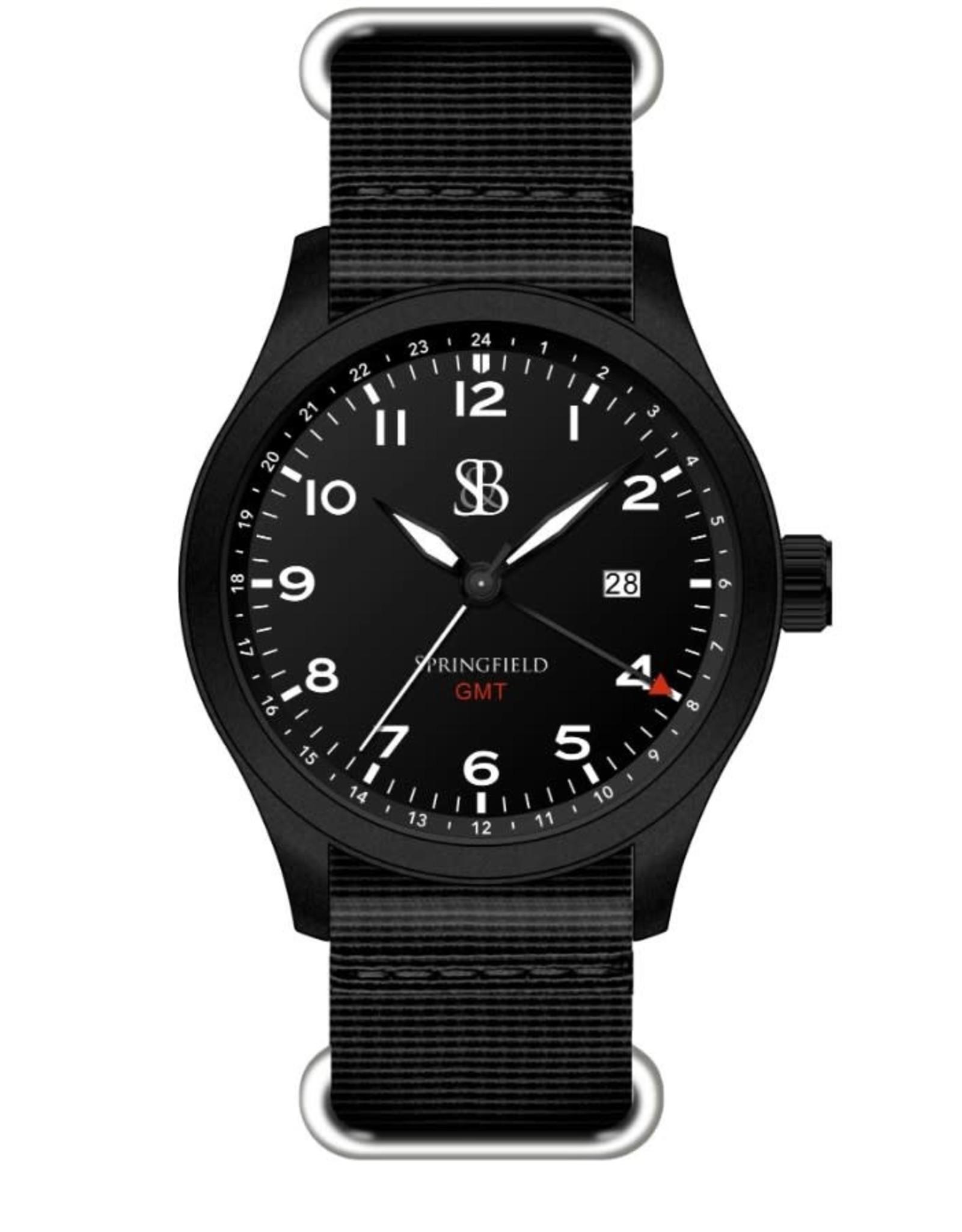 Smith & Bradley Springfield GMT - All Black