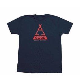 All Good Tent Lines T-Shirt: Navy