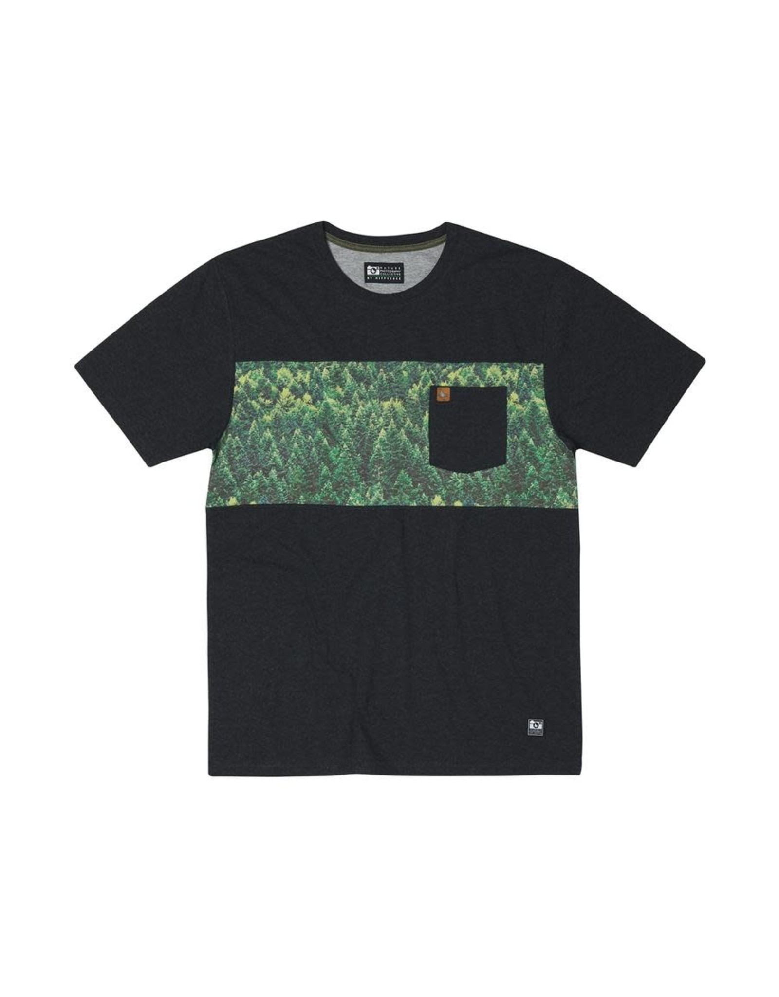 Hippy Tree HT Spruce T-Shirt: Heather Black