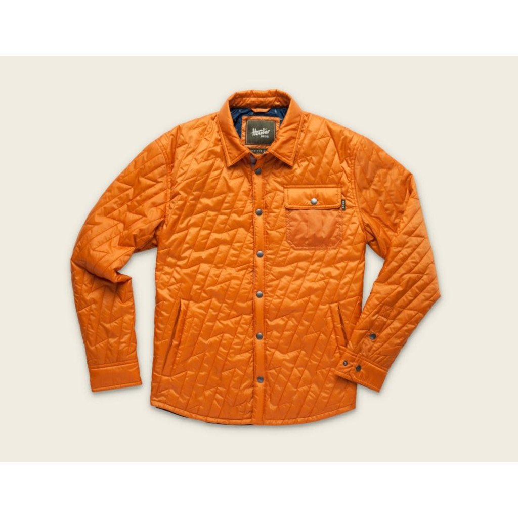 Howler Bros HB Lightning Quilted Jacket - Toasted Orange