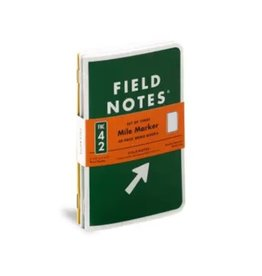 Field Notes Mile Marker