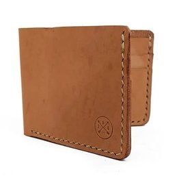 Twisted Arrow Goods Walton Bifold Wallet- Natural