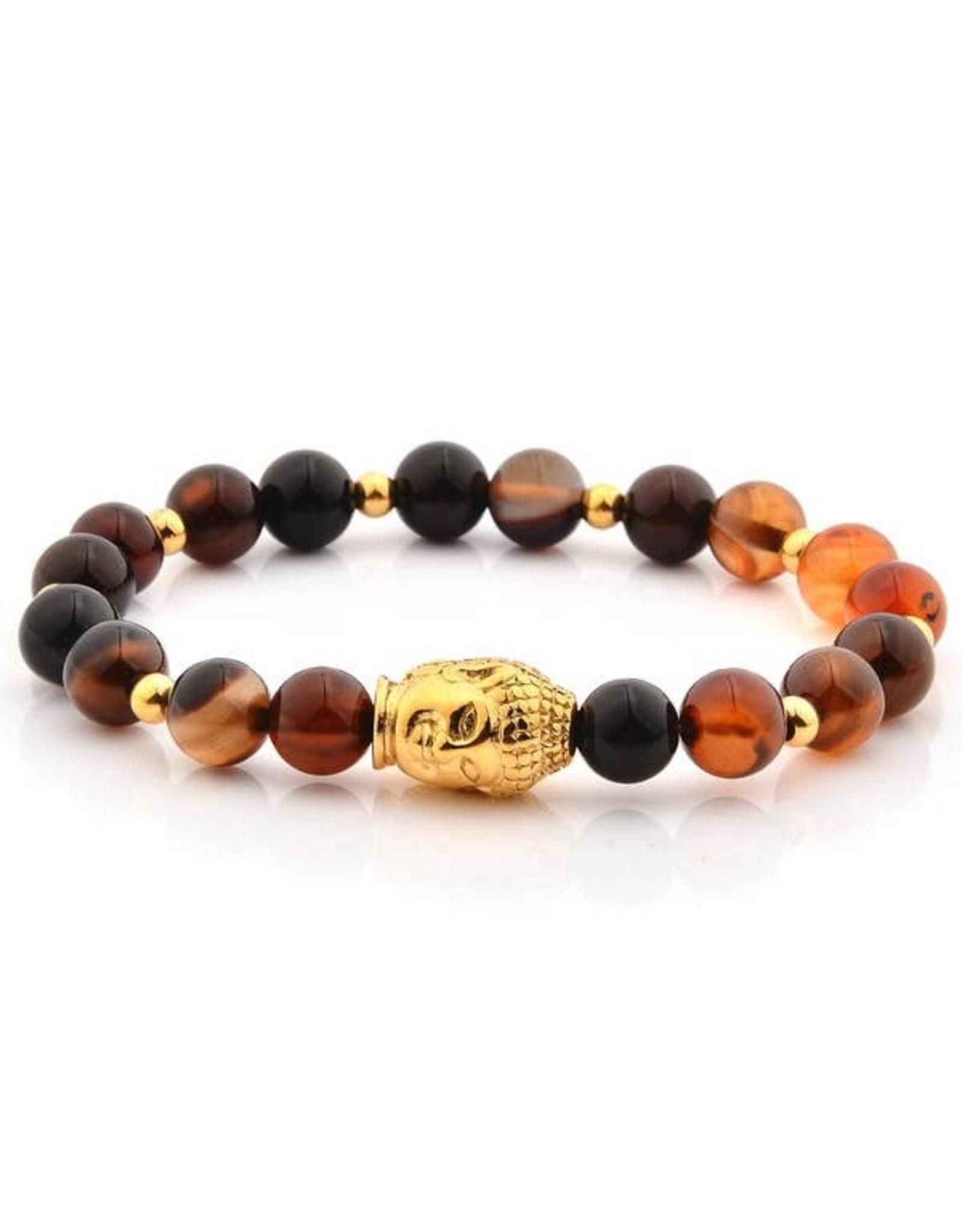 WCJ Agate Buda Bracelet