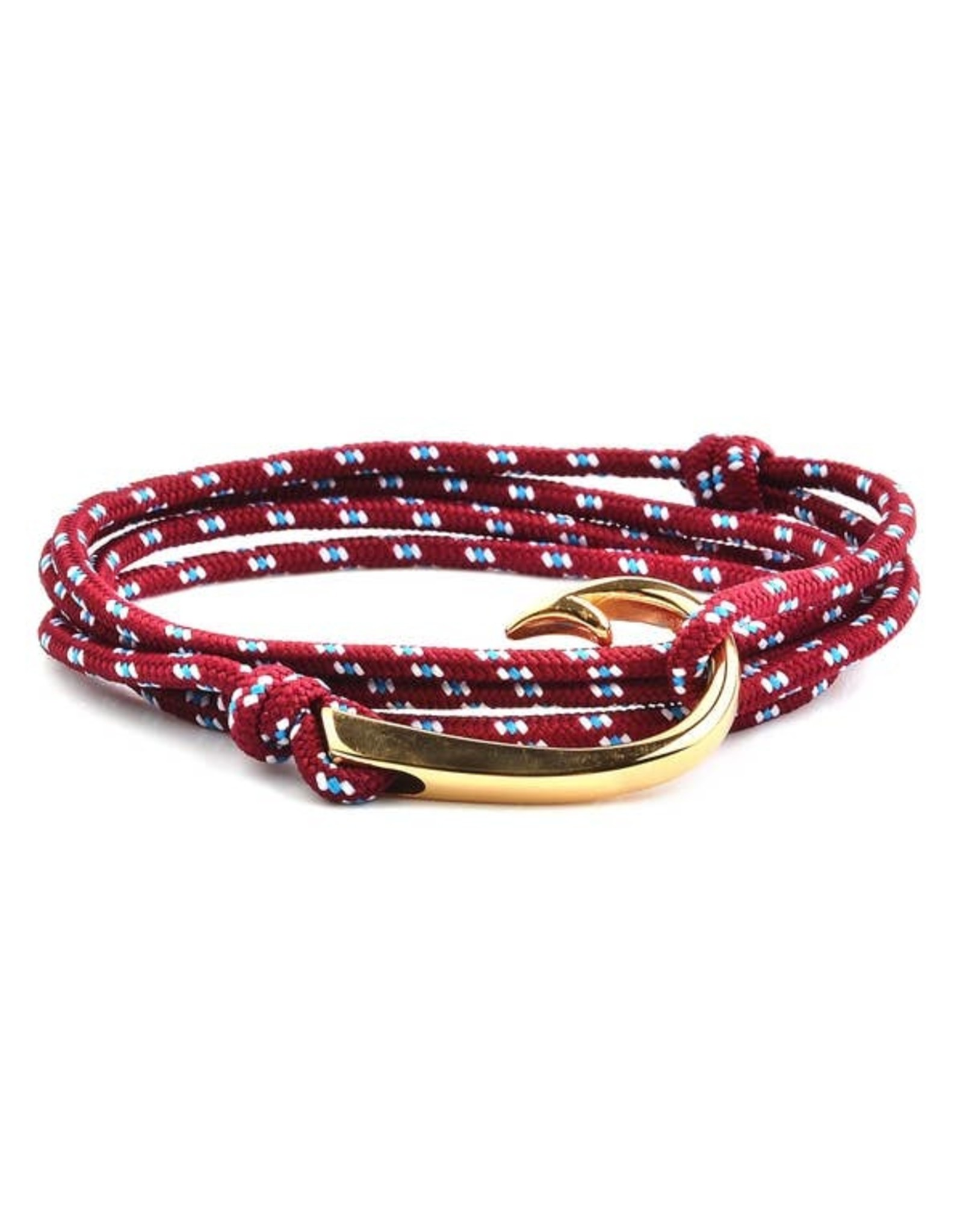 WCJ Rope and Hook Bracelet- Red