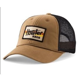Howler Bros HB Electric Stripe Snapback- British Khaki/Navy