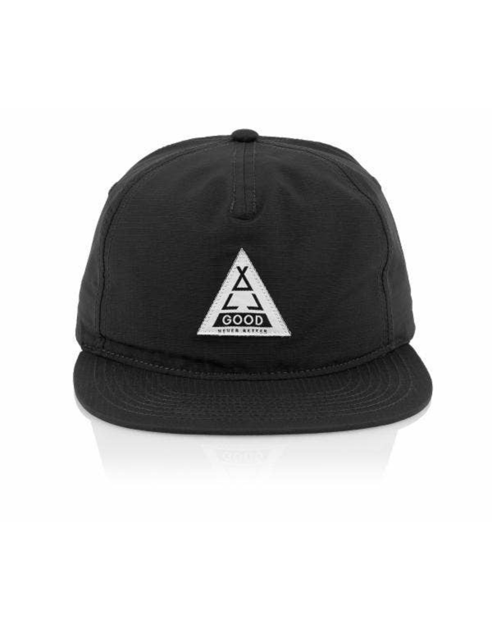 All Good Black Tented US Hat