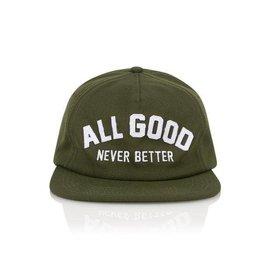 All Good Vert AGNB Snapback