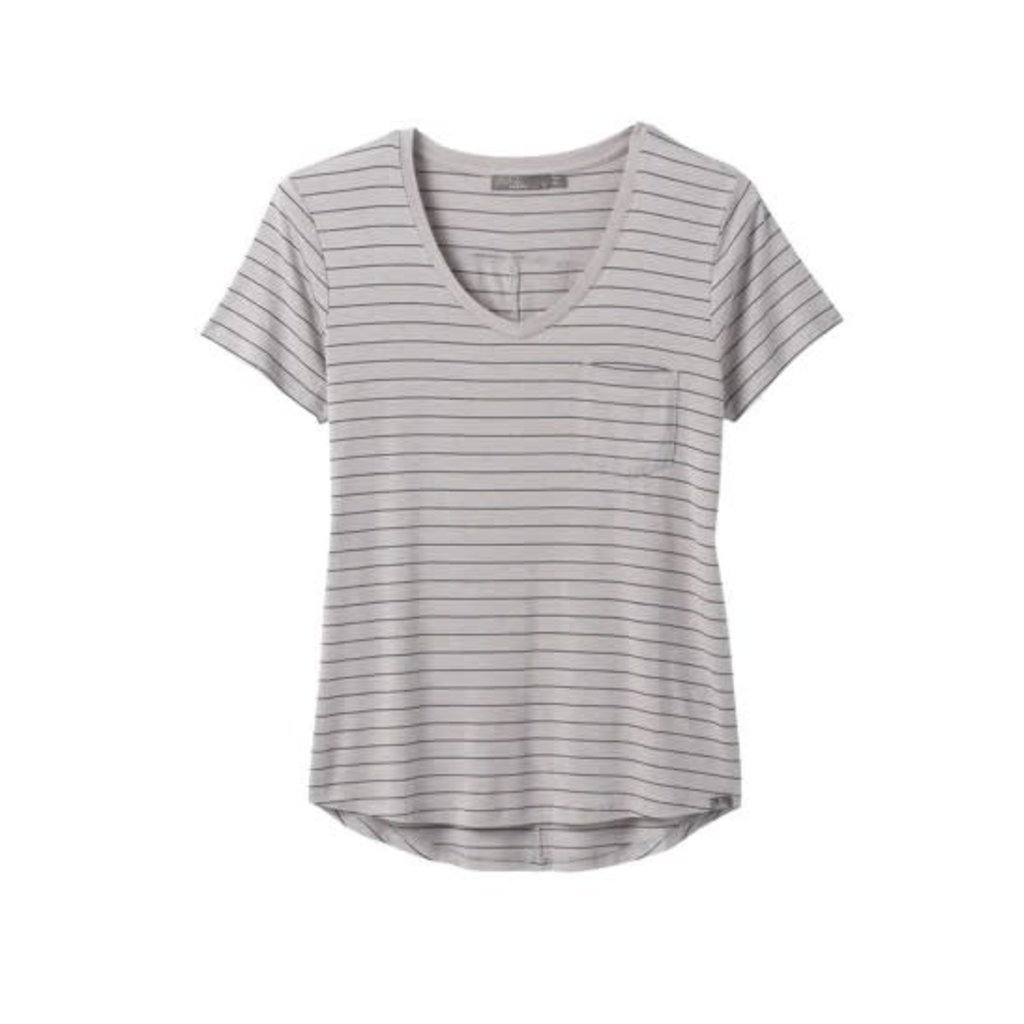 Prana Prana Foundation Short Sleeve V-Neck