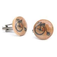Starlight Woods Cufflinks - Bicycle V2