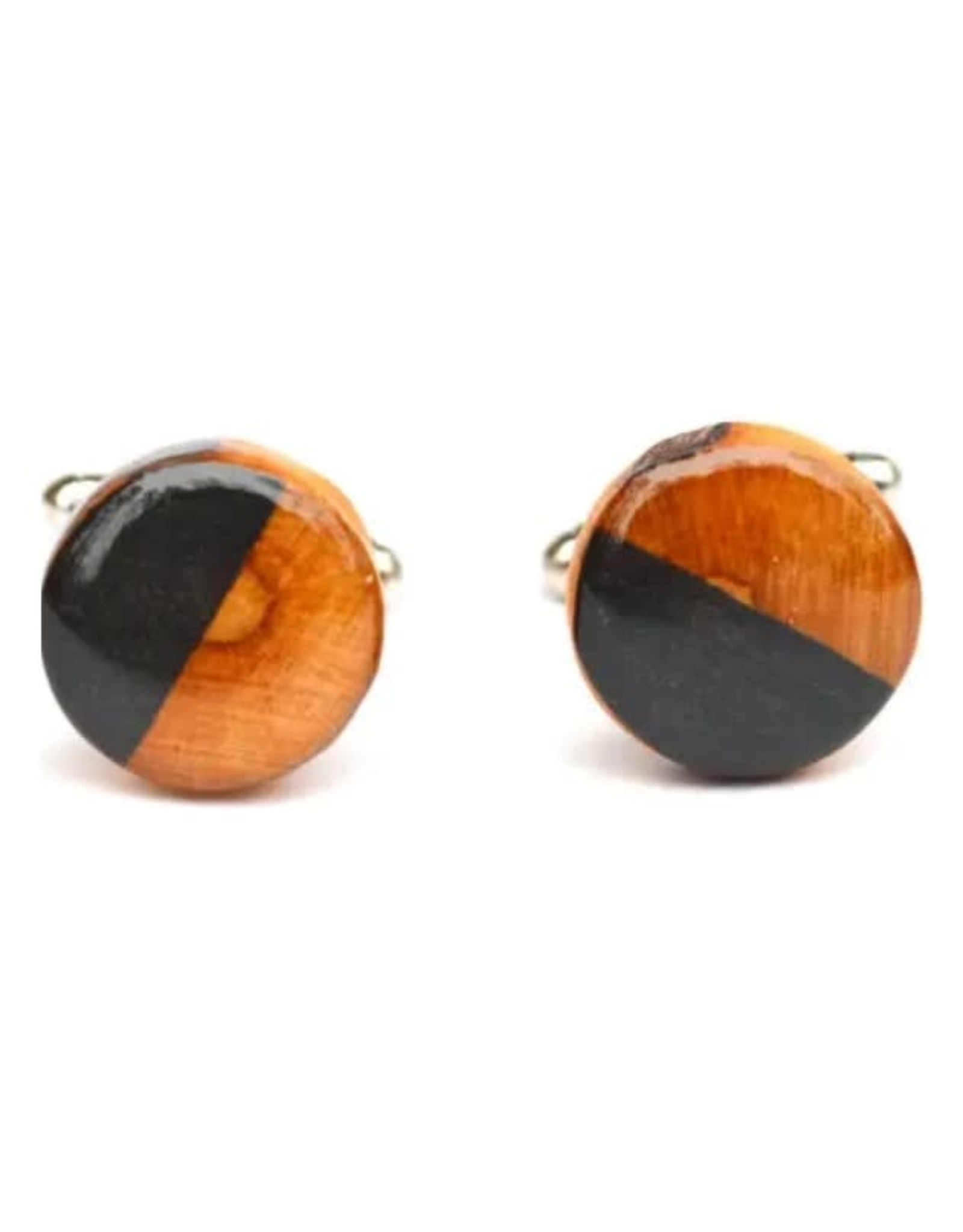 Starlight Woods Cufflinks - 2 Tone