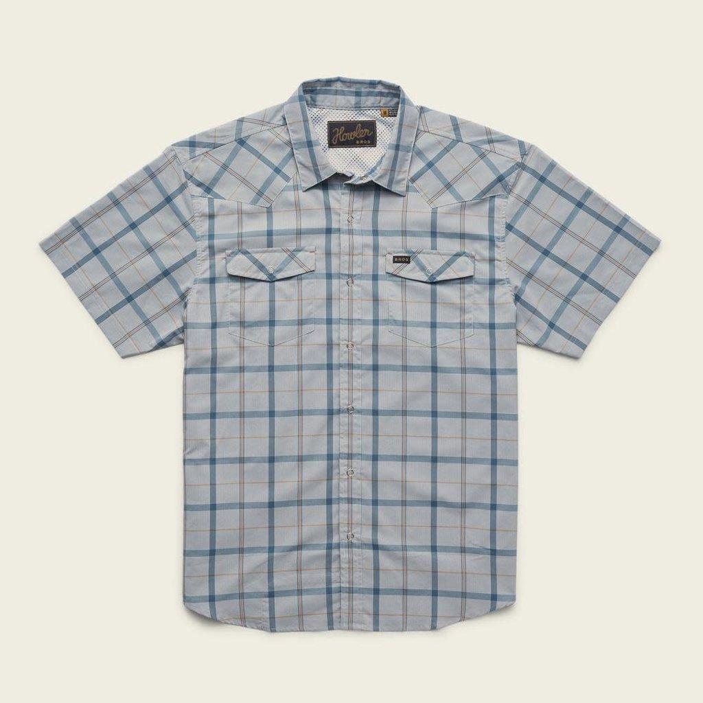 Howler Bros HB H Bar B Tech Shirt - Portella Plaid