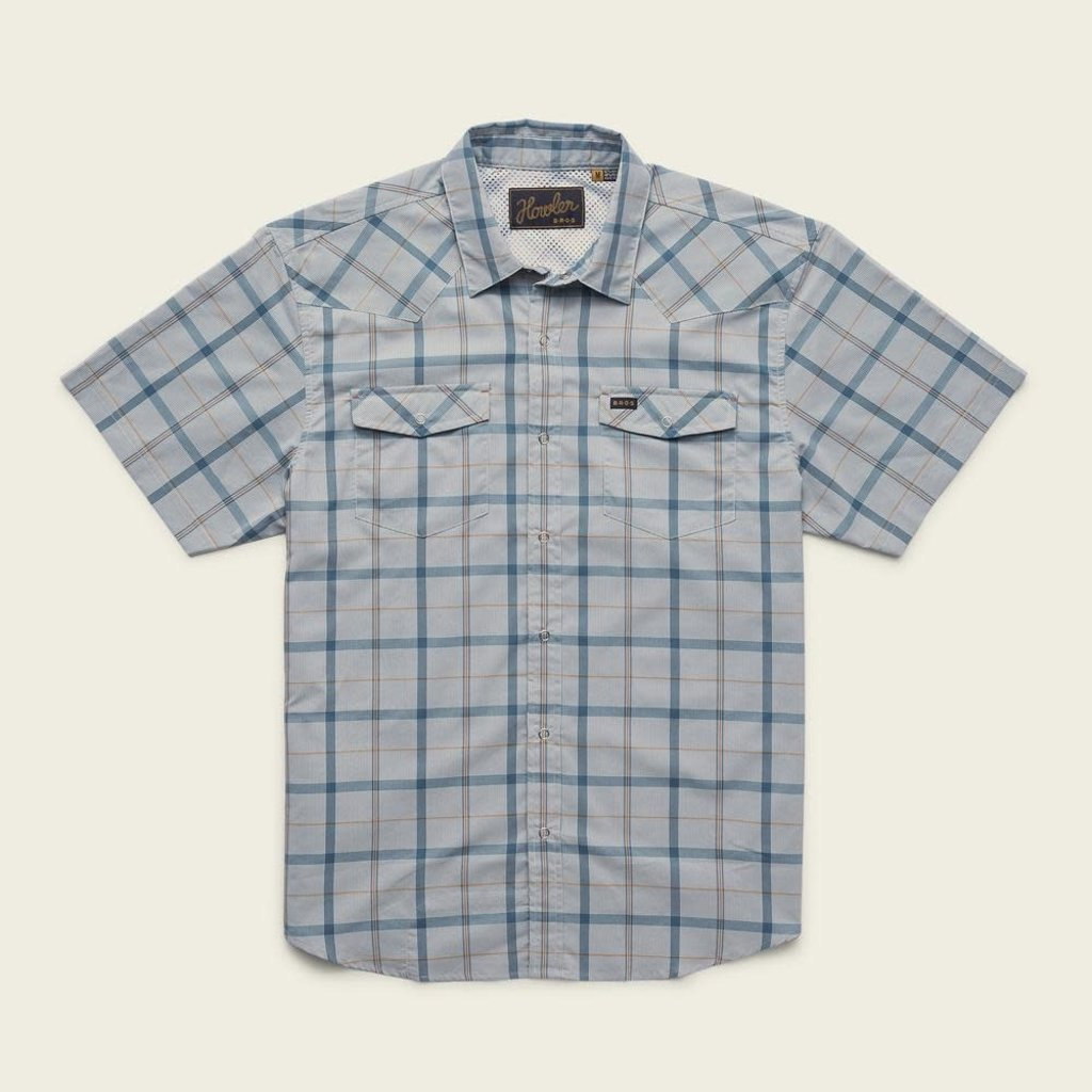 Howler Bros Howler Brothers H Bar B Tech Shirt - Portella Plaid