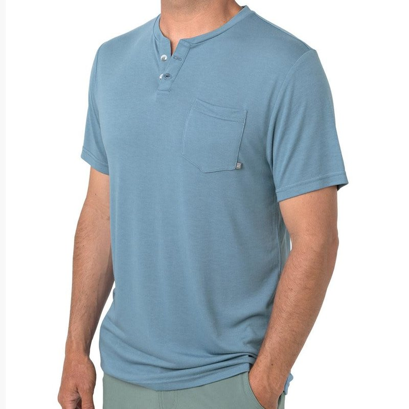 Free Fly Free Fly Mens Slacktide S/S Henley