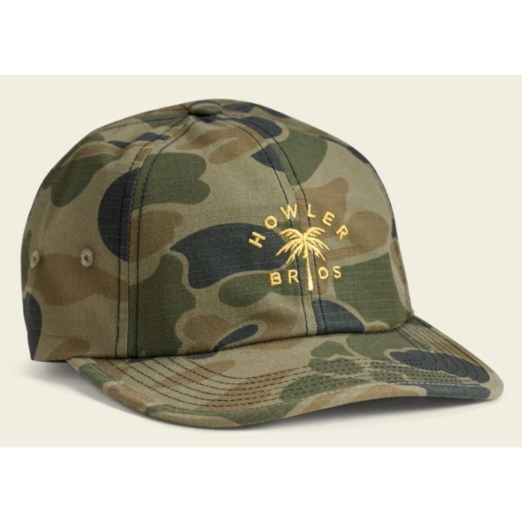 Howler Bros HB Howler Palm Strapback Hat  - Camo