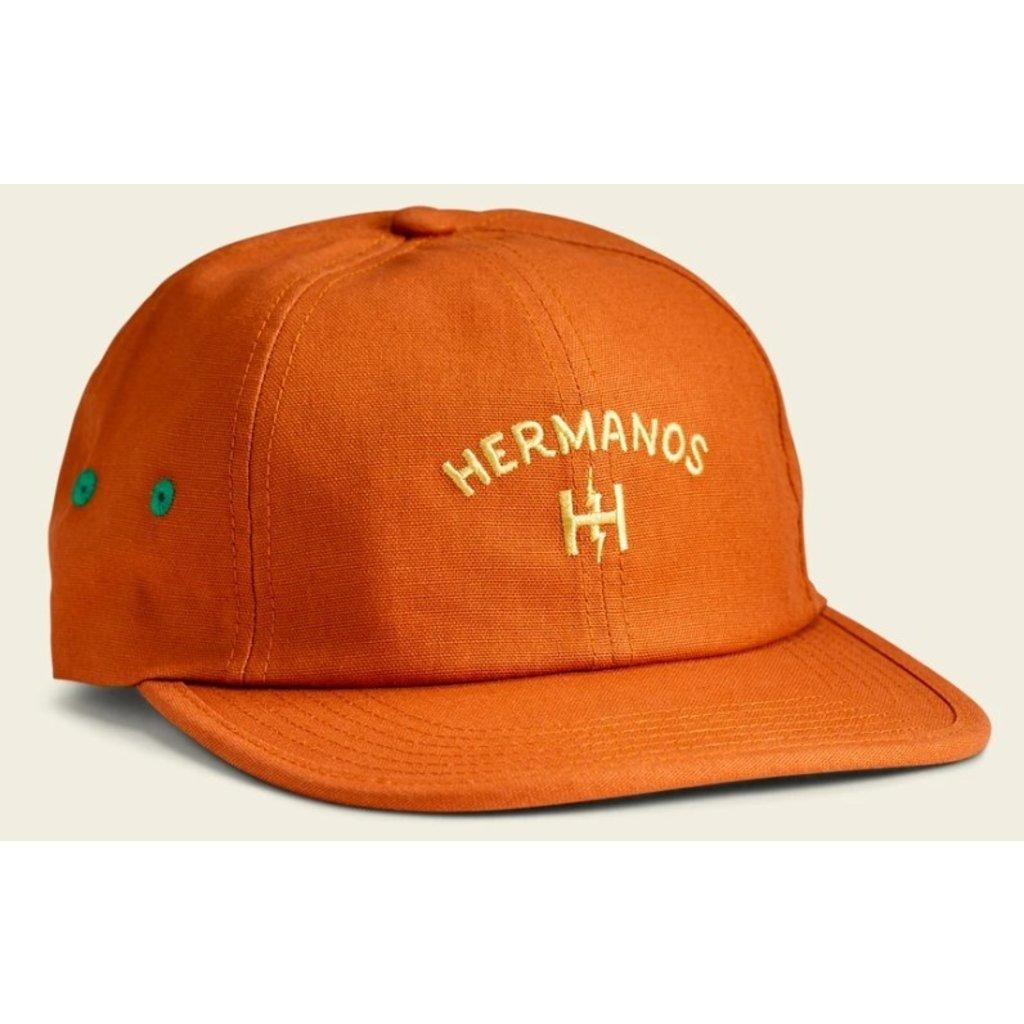 Howler Bros Howler Brothers Hermanos Strapback` Hat  - Tangerine
