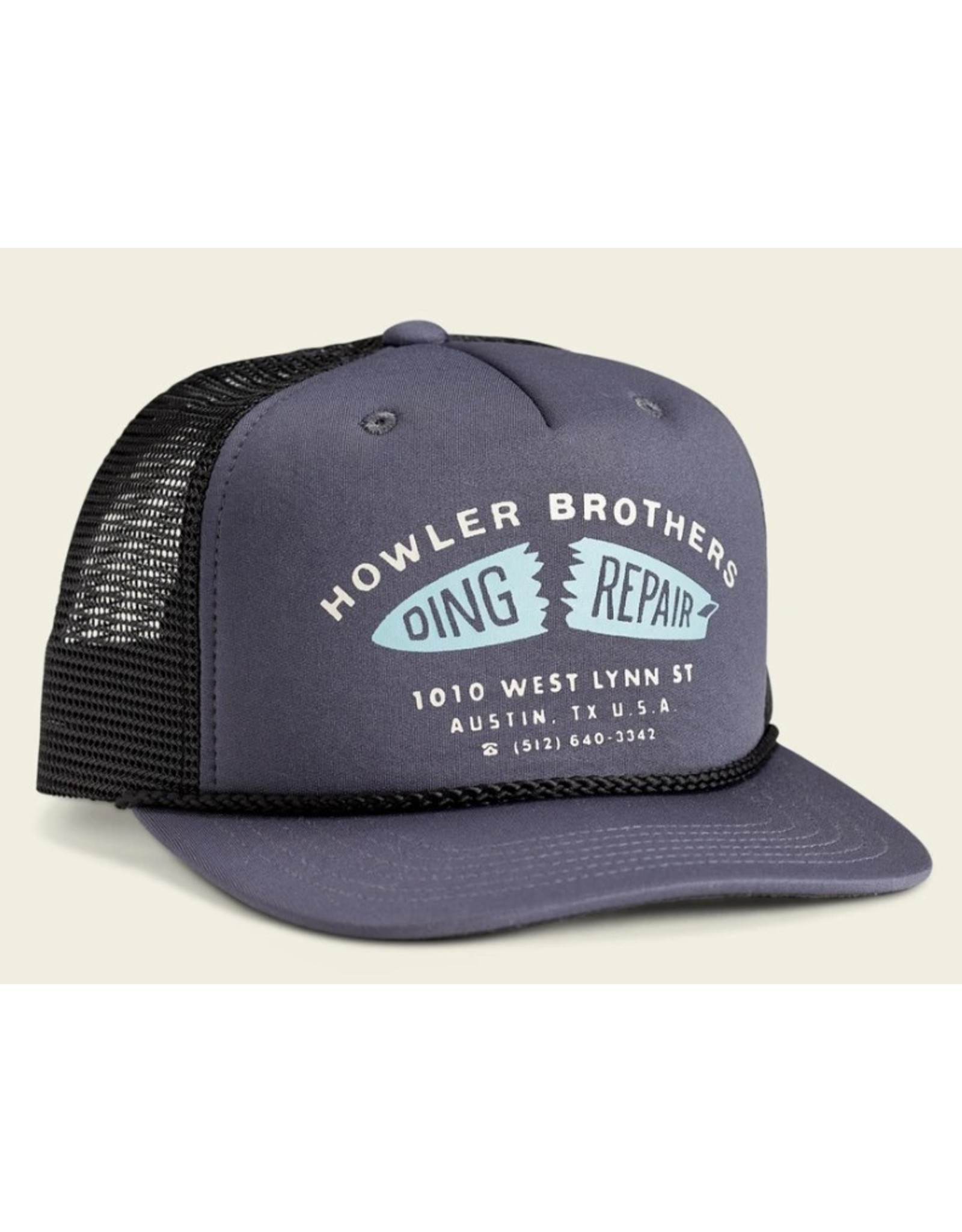 Howler Bros HB Ding Repair Structured Snapback - Charcoal