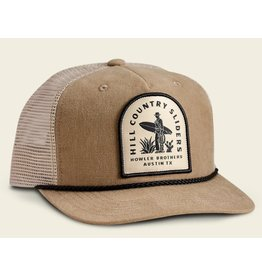 Howler Bros HB Hill Country Sliders Structured Snapback - Taupe