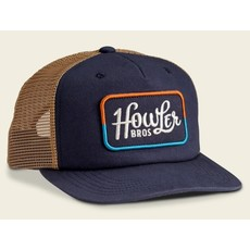 Howler Bros Howler Brothers Howler Classic Structured Snapback Hat - Navy/Old Gold