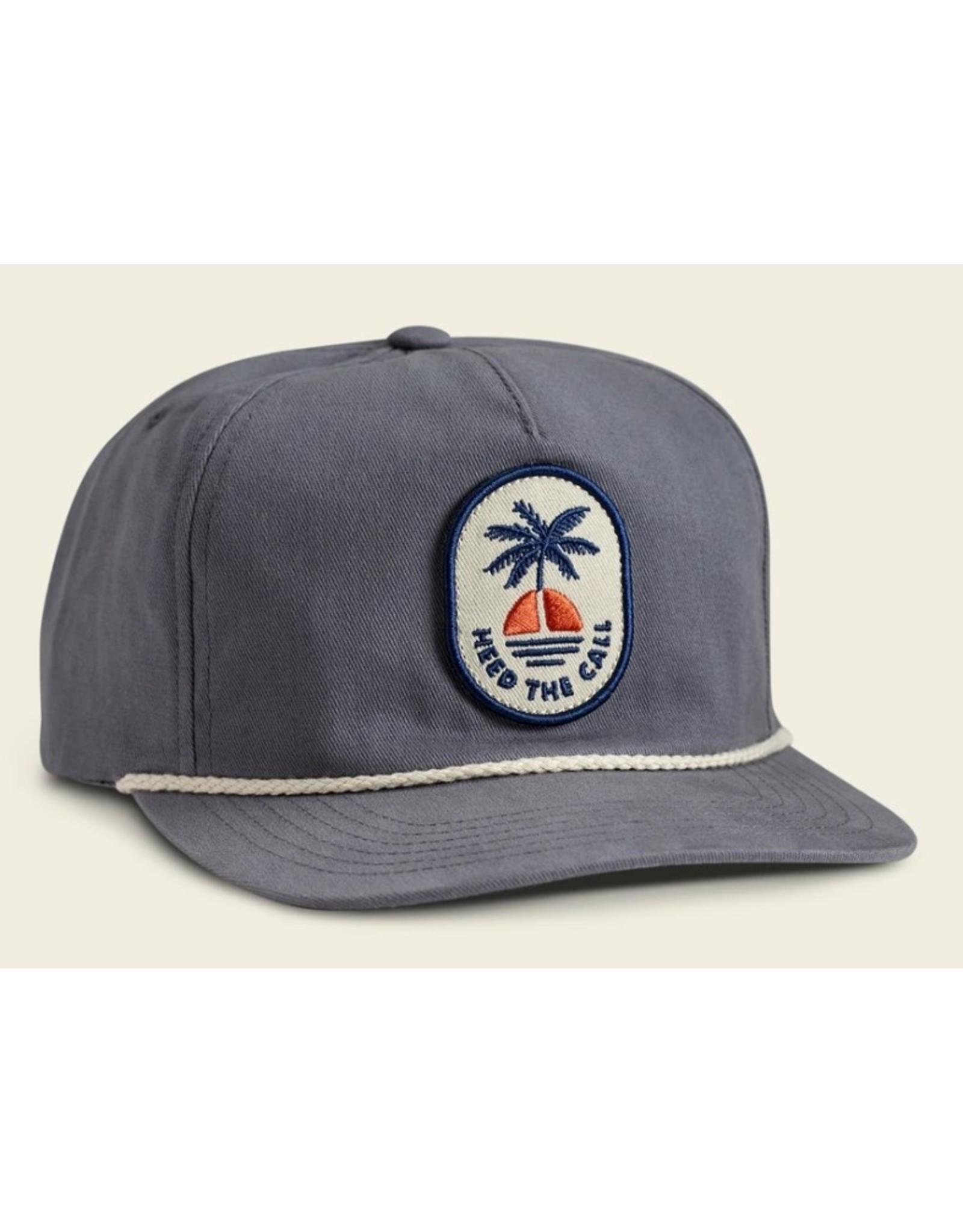 Howler Bros HB Howler Sunset Unstructured Snapback Hat  - Deep Blue
