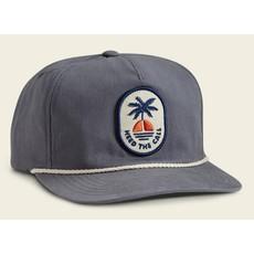 Howler Bros Howler Brothers Howler Sunset Unstructured Snapback Hat  - Deep Blue