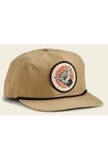 Howler Bros HB Shaka The Monkey Unstructured Snapback - Khaki