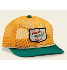 Howler Bros HB Howler Club Unstructured Snapback - Gold/Green