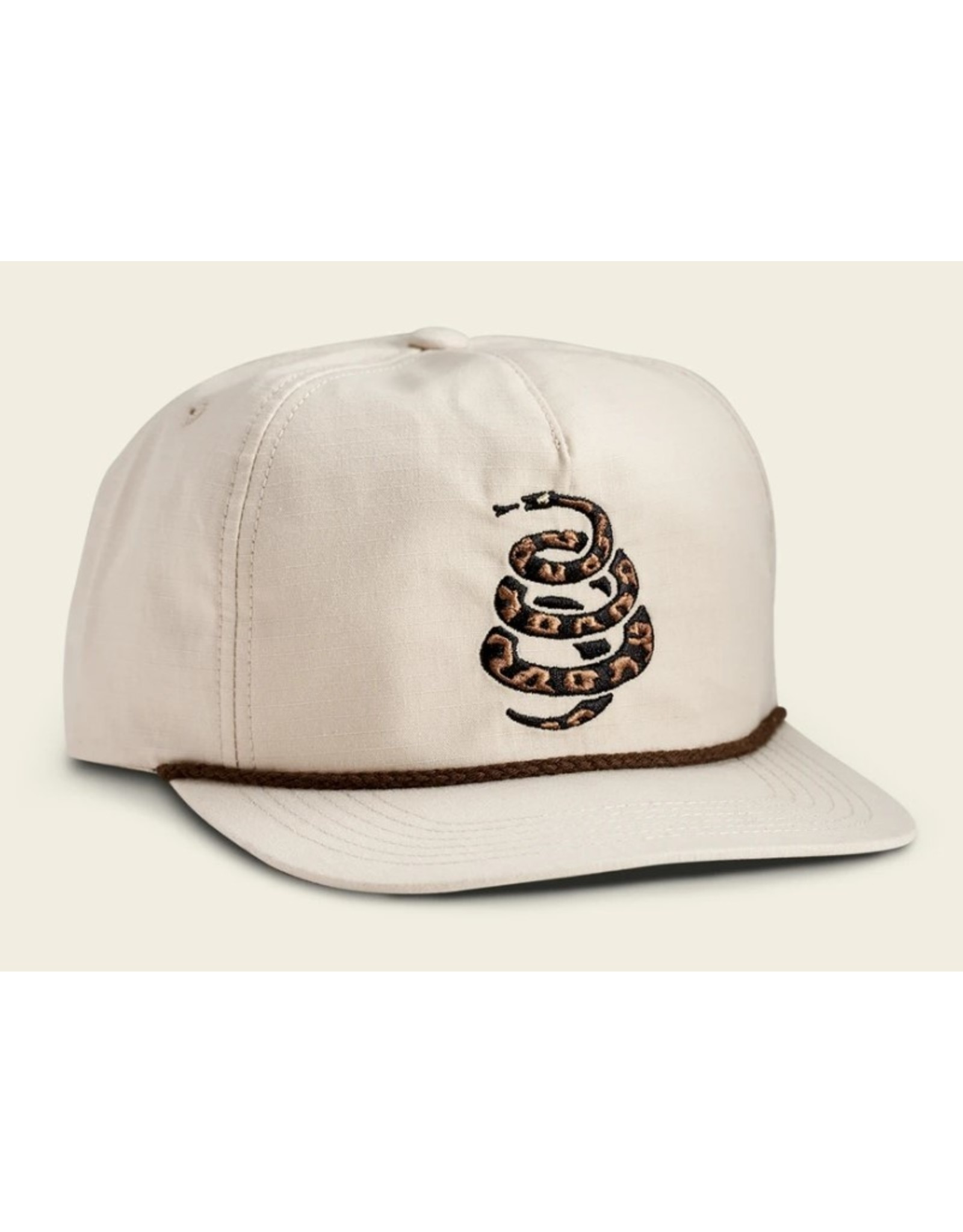 Howler Bros HB Cottonmouth Unstructured Snapback - Off White
