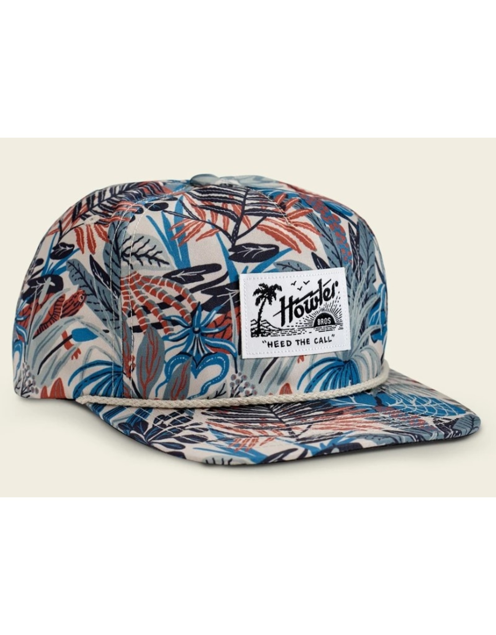 Howler Bros HB Everglades Unstructured Snapback Hat  - Off White