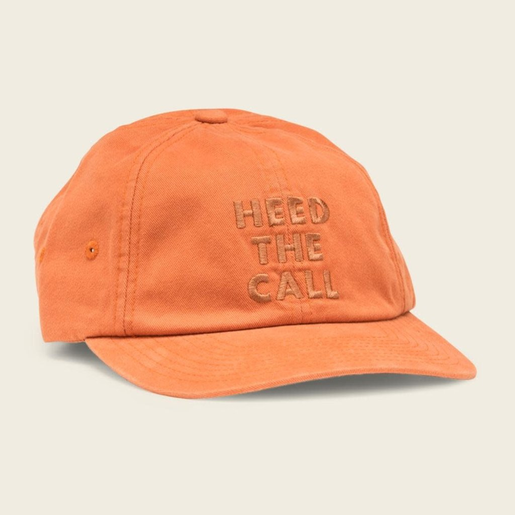 Howler Bros Howler Brothers Heed the Call Strapback Hat  - Orange