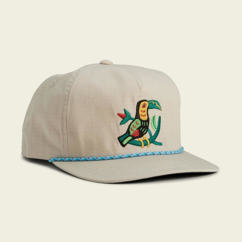 Howler Bros Howler Brothers Toucan Unstructured Snapback Hat  - Off White