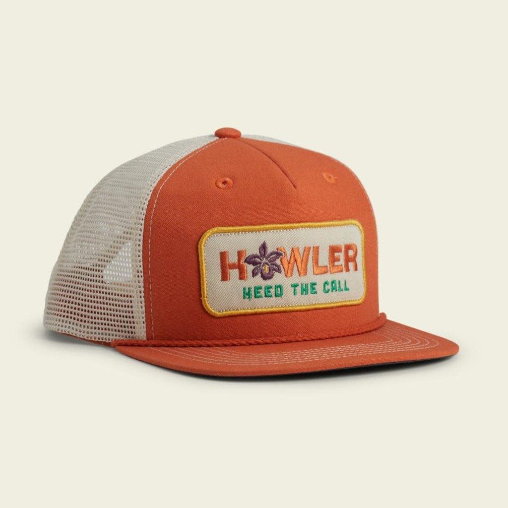 Howler Bros Howler Brothers Guaria Morida Snapback Hat  - Tangerine
