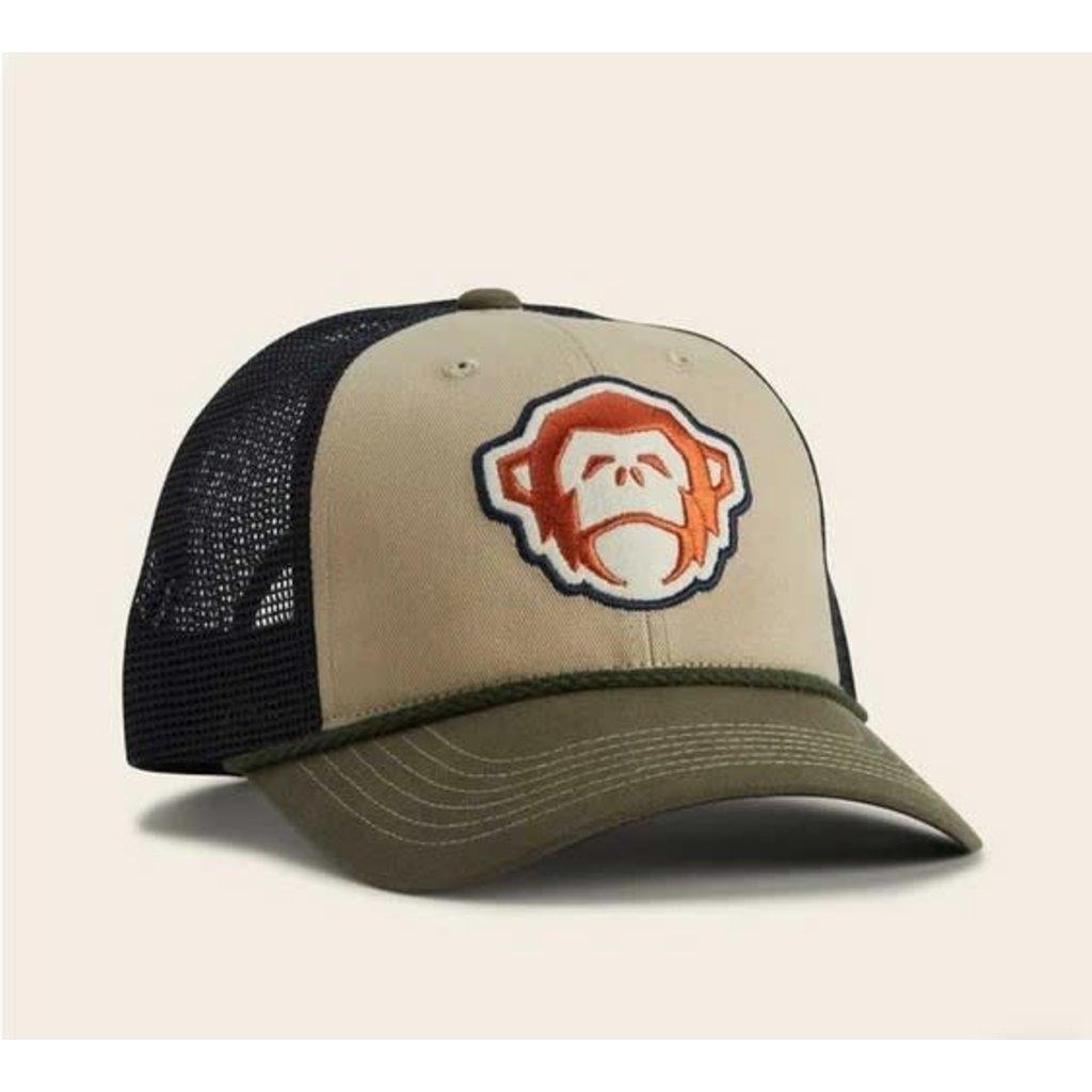Howler Bros Howler Brothers El Mono Hat: Khaki/Rifle Green