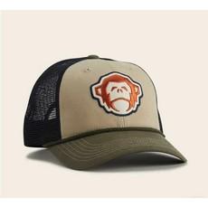 Howler Bros HB El Mono Hat: Khaki/Rifle Green
