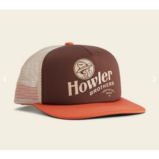 Howler Bros Howler Brothers El Monito Snapback Hat  - Coffee/Pumpkin