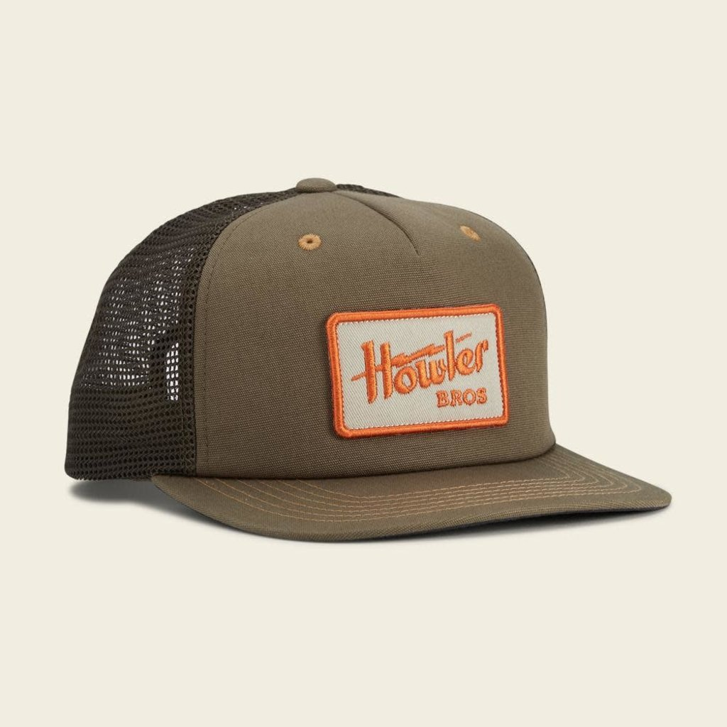 Howler Bros Howler Bros. Electric Snapback Hat  - Rifle Green