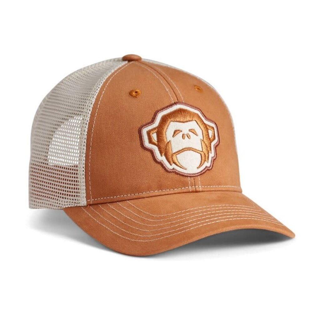 Howler Bros HB El Mono Standard Hat - Tangerine/Stone