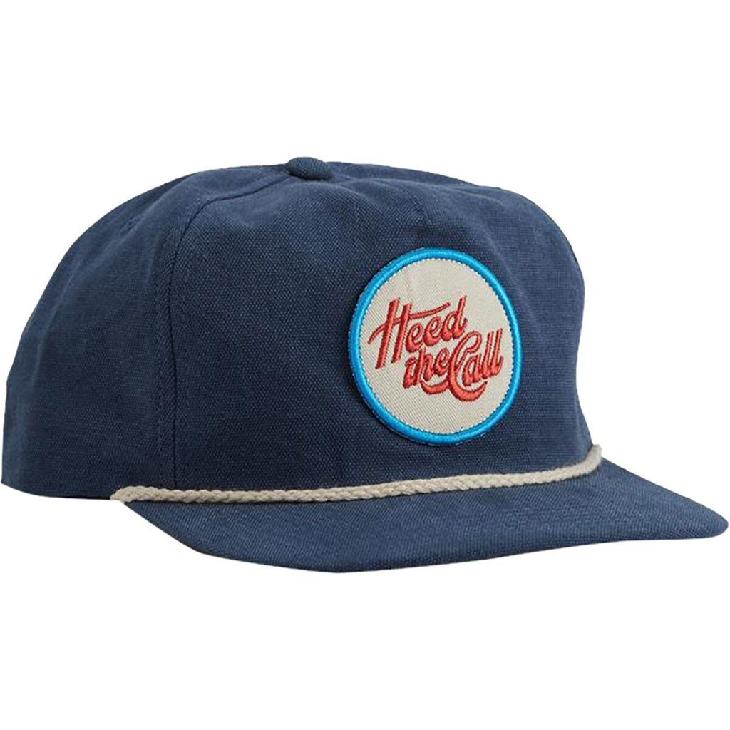 Howler Bros Howler Bros. Flourish Snapback Hat  - Marine Blue