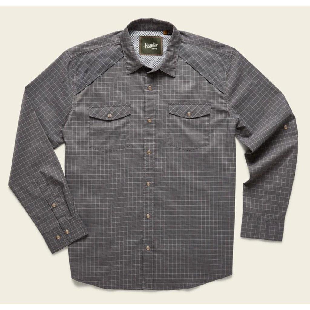 Howler Bros HB Firstlight Tech Shirt: Parcels Check