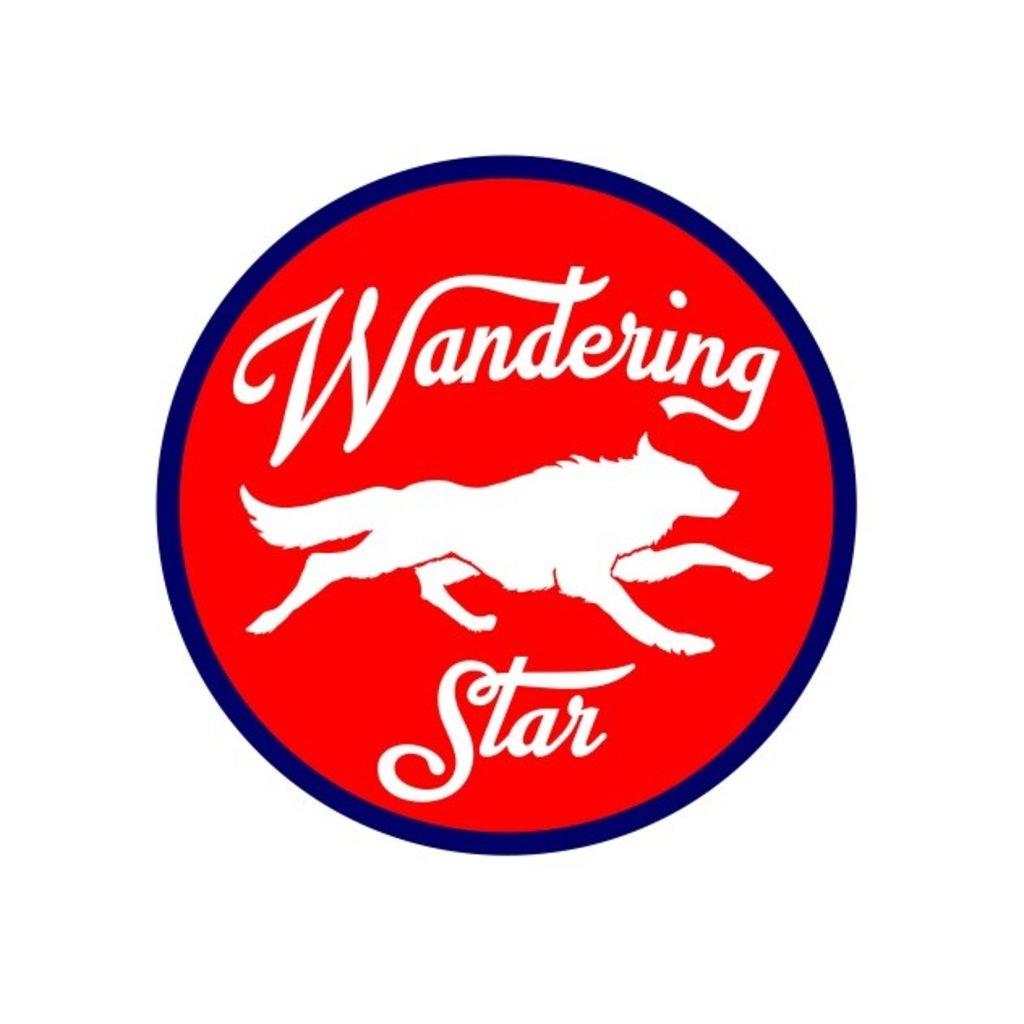 WS Running Wolf Sticker