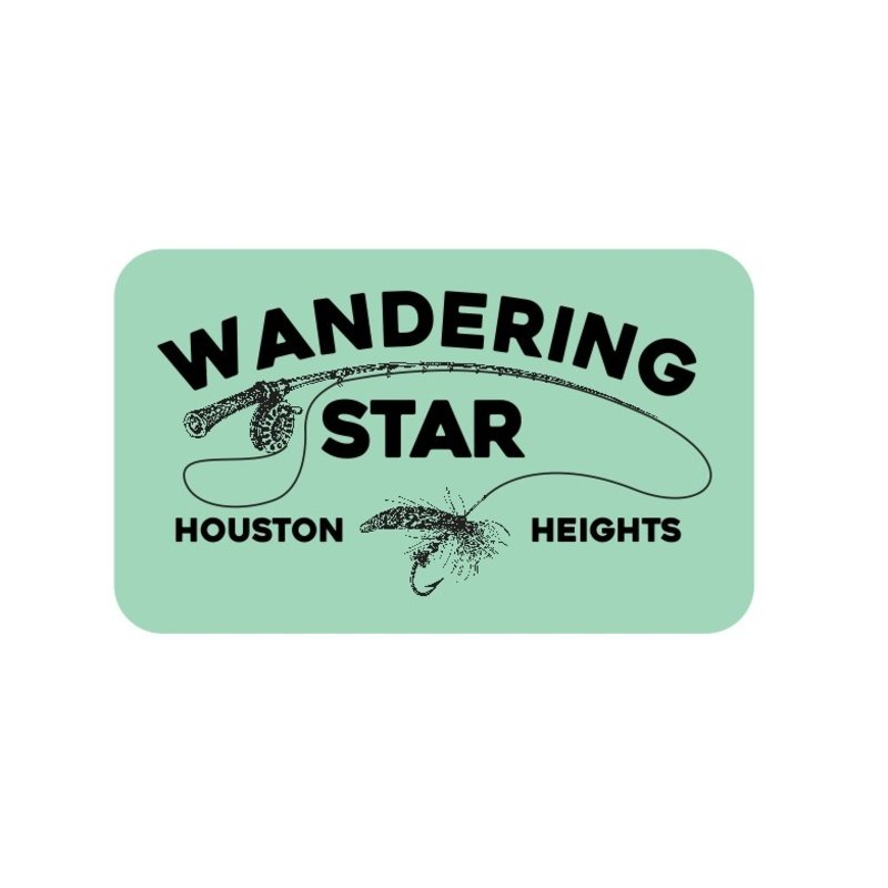 WS Fly Fishing Sticker