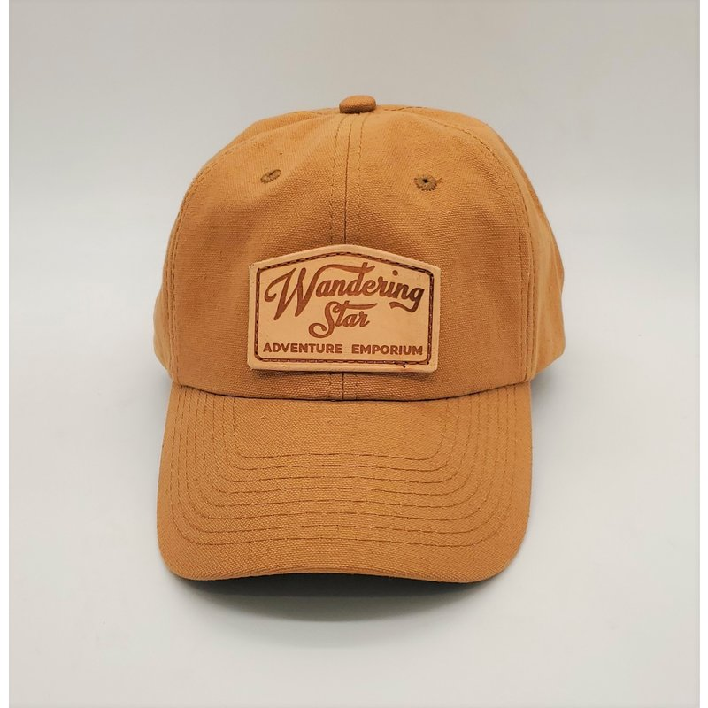 Wandering Star Hat - Duck Canvas  w/ Leather Patch
