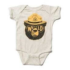 Keep Nature Wild KNW Wildbear Onesie: Natural - 12mo