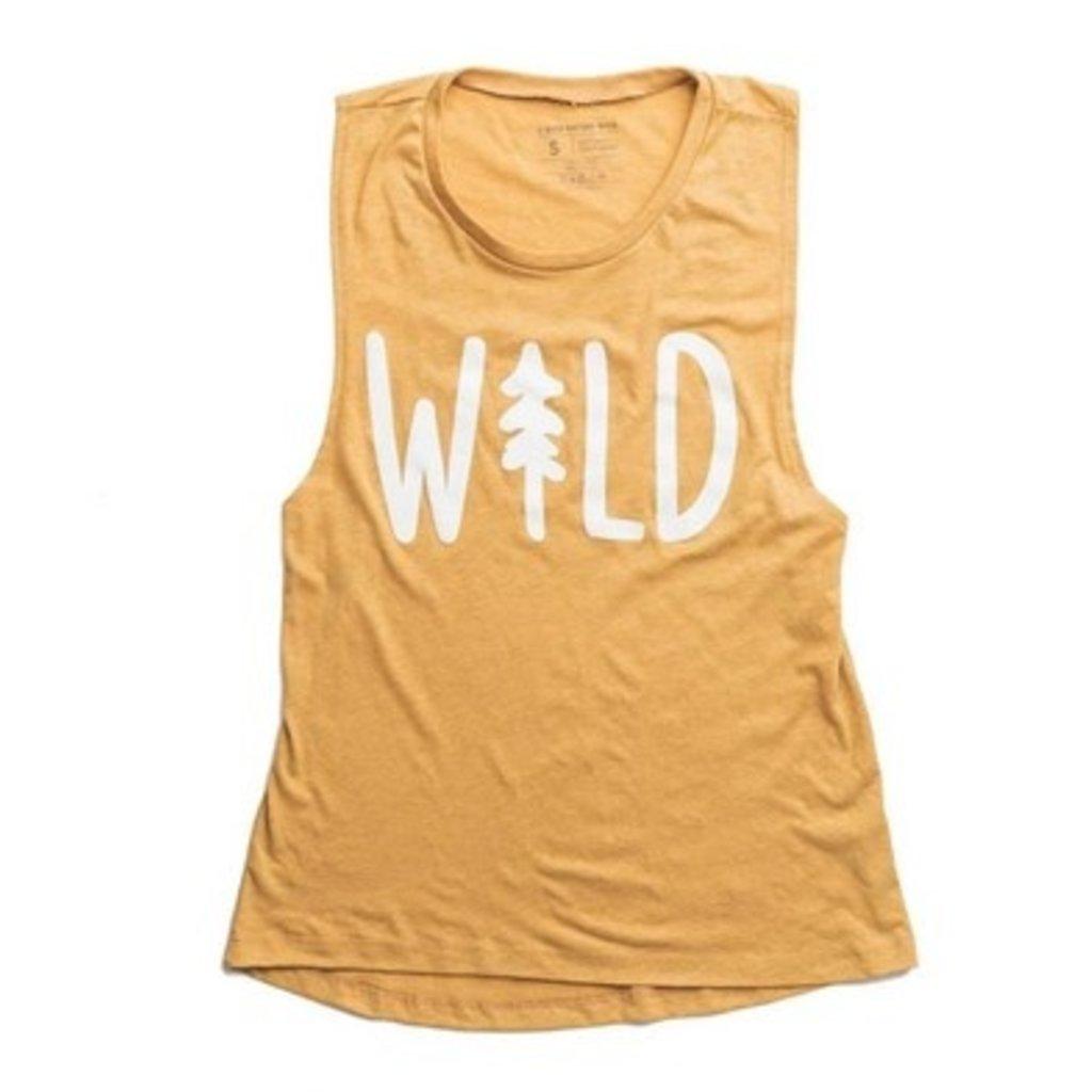 Keep Nature Wild KNW Wild Pine Women's Muscle Tank