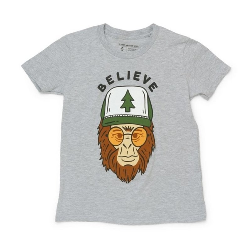 Keep Nature Wild KNW Clyde the Sasquatch Youth Tee