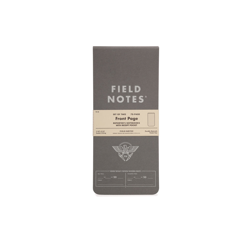 Field Notes Front Page - 2 Pack