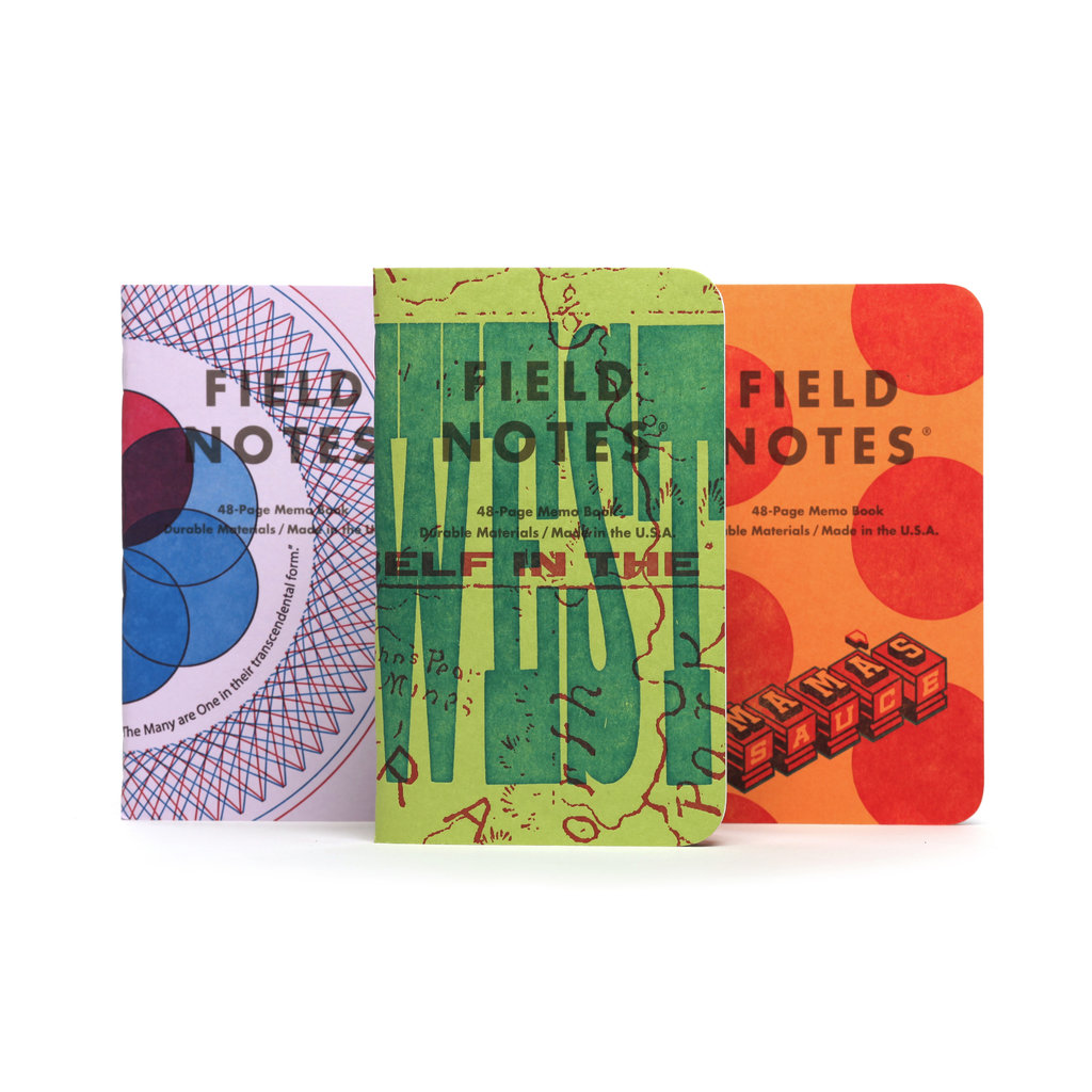 Field Notes Unted States of Letterpress - Pack A (3)