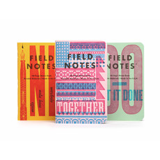 Field Notes Unted States of Letterpress - Pack B  (3)