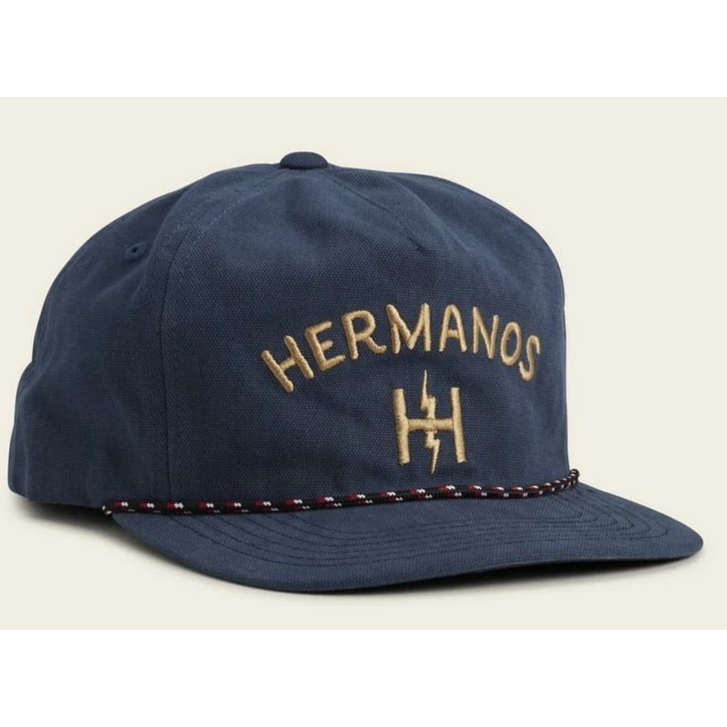 Howler Bros Howler Brothers Hermanos Unstructured Snapback Hat - Pacific Blue